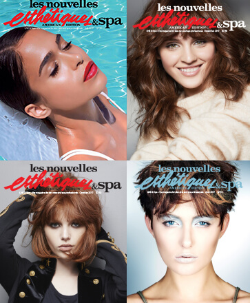 Front Covers of Les Nouvelles Esthetics & Spa, American Edition