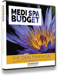Cover image depicting the Medi-Spa Budget: The Ideal Financial Blueprint for Managing Your Business